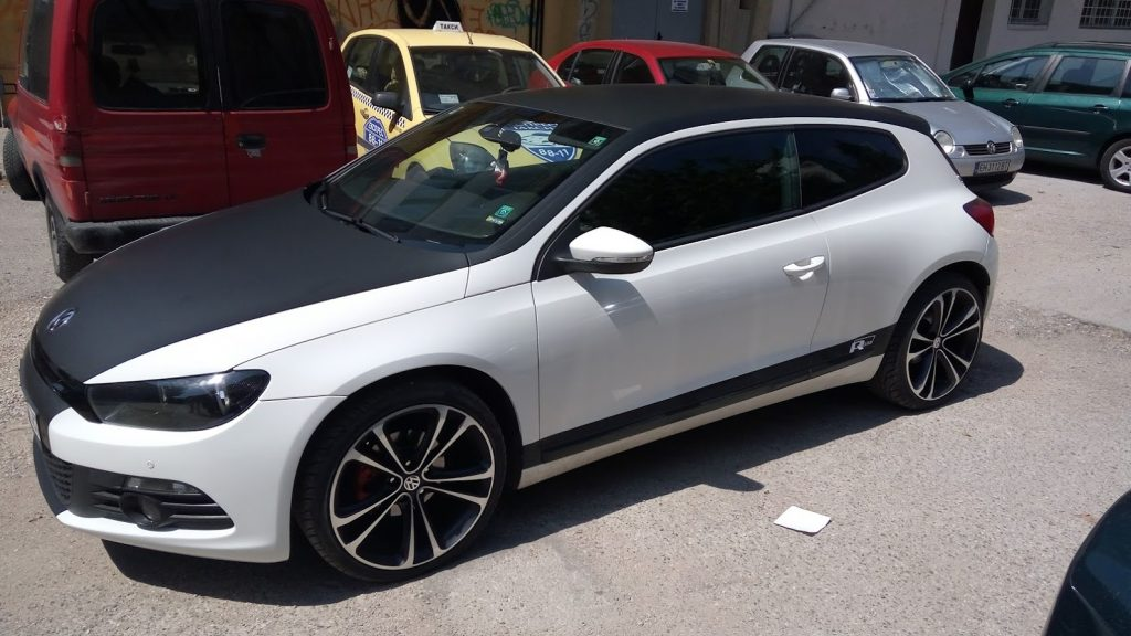 Пълно облепване на автомобил с фолио-mgproduct.net